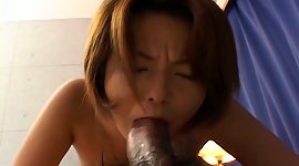 Insatiable Japanese MILF riding hard..