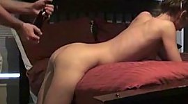 Young girlfriend getting fucked on..