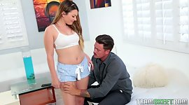 Licentious stepdaughter Cali Hayes is..