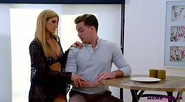 Lecherous stepmom India Summer gets..