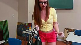 Art student Maddy Oreilly