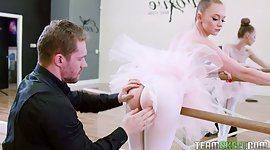 Worthy ballerina Athena Rayne gives a..