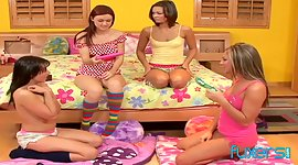 Really wild sapphic sweety orgy gonna..