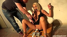Sex-starved blonde Karol Lilien is..