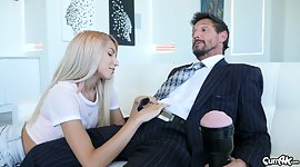 Naughty stepdaughter Hime Marie jerks..