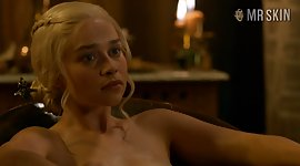 Game Of Thrones nude scenes featuring..